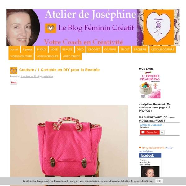 Le blog Atelier de Joséphine