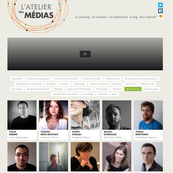 L'atelier des medias - coworking Lyon