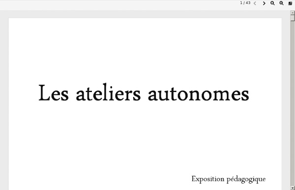 Pedago.ac-clermont.fr/ageem03/documents/expo-11/E23/Les_ateliers_autonomes_livret_complet.pdf