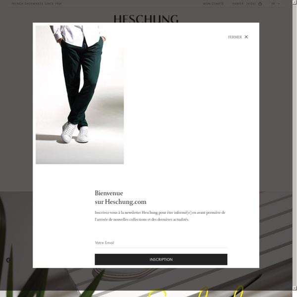 La boutique Heschung, souliers depuis 1934
