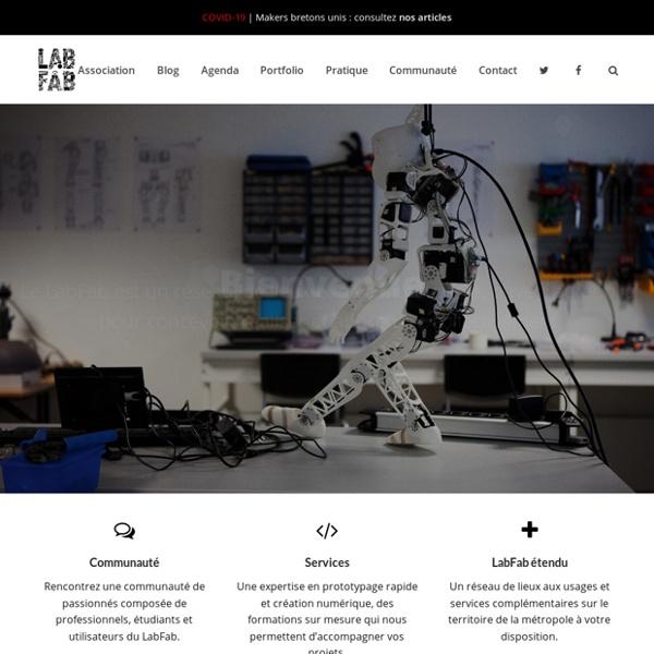 LabFab Rennes - Projet de laboratoire de fabrication francophoneLabFab Rennes – Projet de laboratoire de fabrication francophone