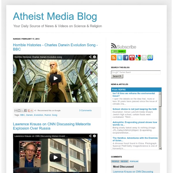 Atheist Media Blog