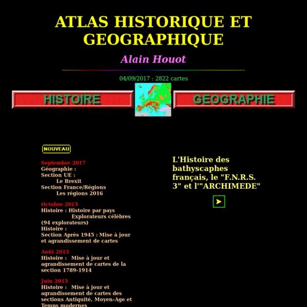 Atlas histoire geographie [Alain HOUOT]