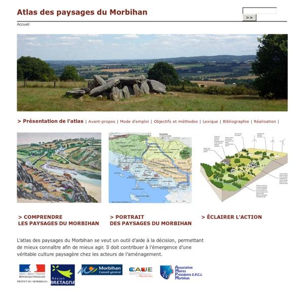 Atlas des paysages du Morbihan
