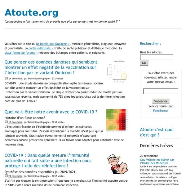 Atoute.org : forum médical