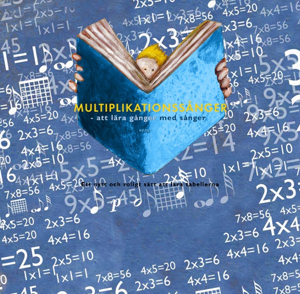 Multiplikationssånger – att lära gånger med sånger