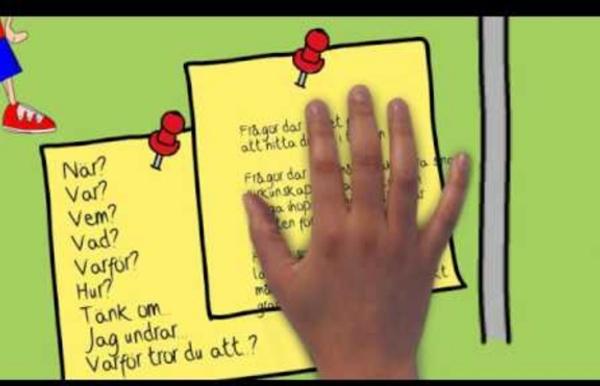 Läsförståelsestrategin - Att ställa frågor