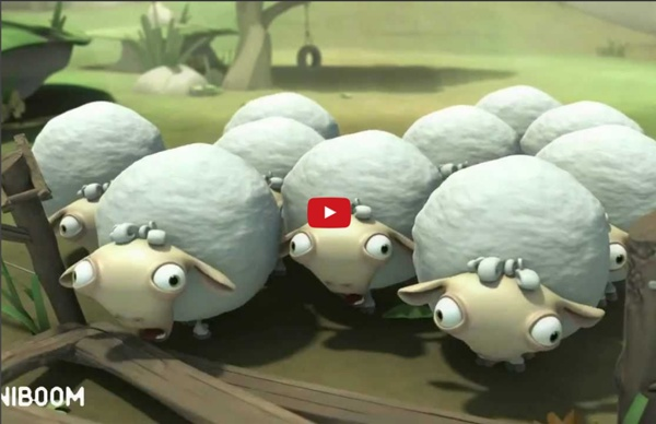 Holy Sheep - An Attached Aniboom Animation by Justin Farris
