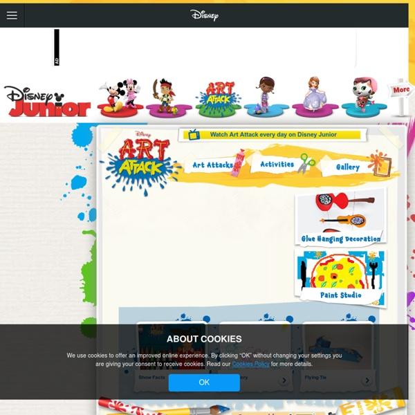Art Attack Official Website
