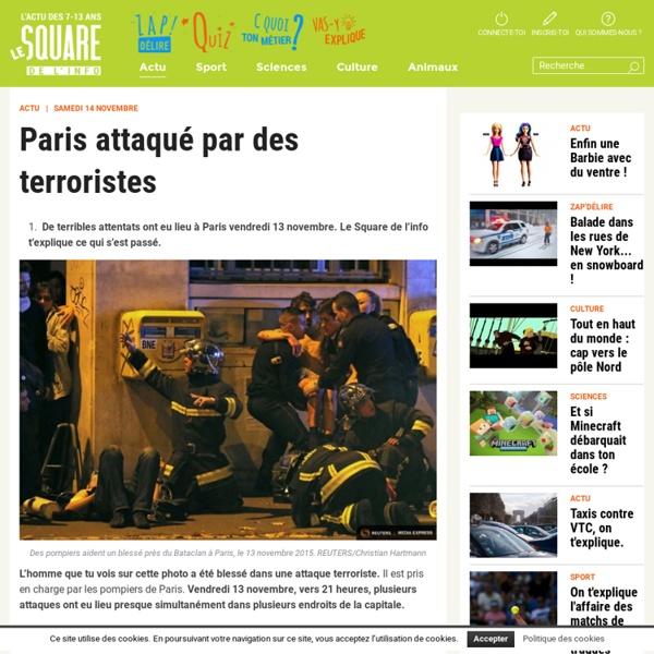 Paris attaqué par des terroristes