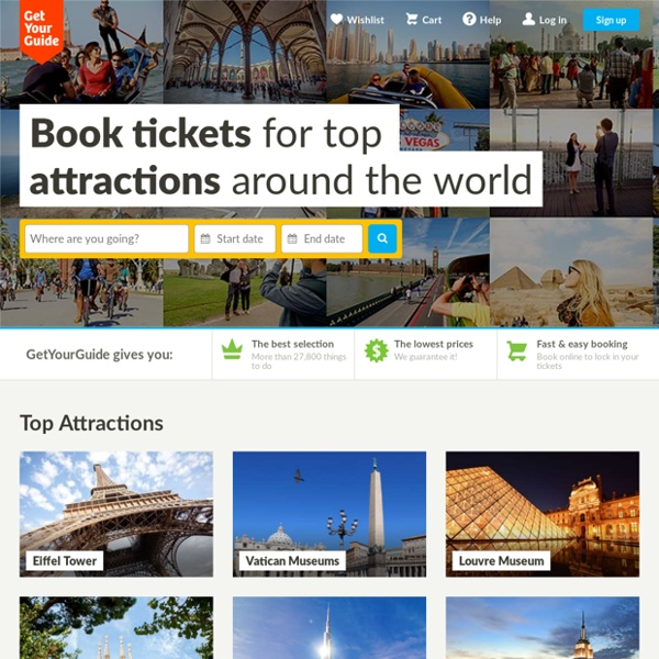Gidsy.com: book and offer tours, activities, workshops, local events and more exciting things to do