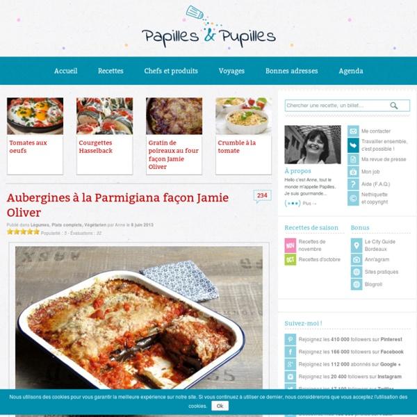 Aubergines à la Parmigiana façon Jamie Oliver