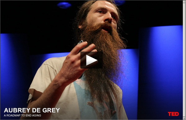 Aubrey de Grey dit que nous pouvons éviter de vieillir