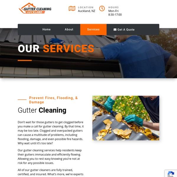 Auckland Gutter Services — Gutter Cleaning Auckland