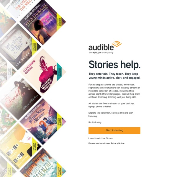 Audible Stories: Free Audiobooks for Kids