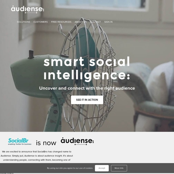 SocialBro - Explore your Twitter community