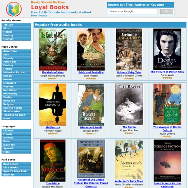 3000 Free Audio Books + eBooks, Download for iPhone, Android