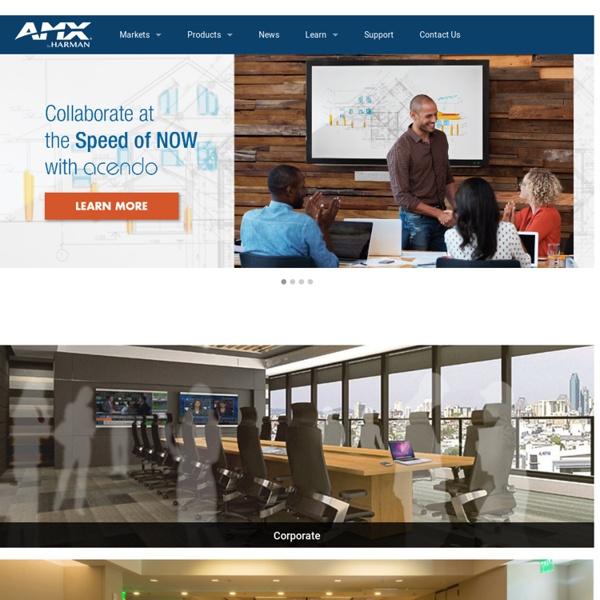 AMX : Commercial Automation: Home