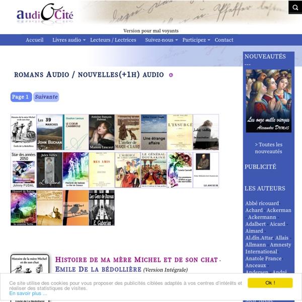Livres audio gratuits mp3