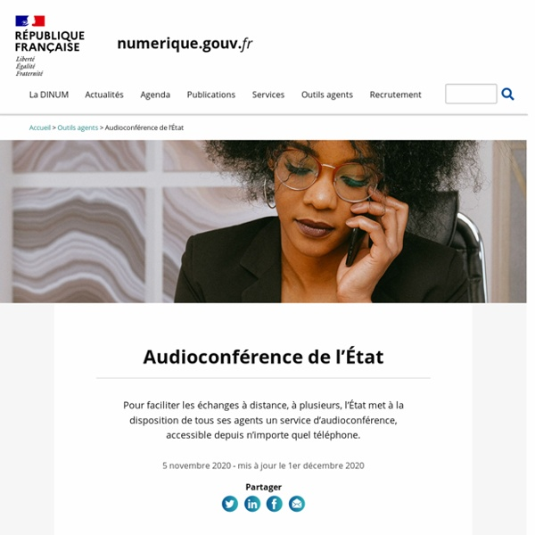 Audioconférence de l'État