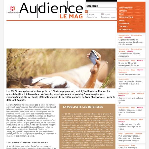 Usages et audience des médias audiovisuels et interactifs et comportements du public