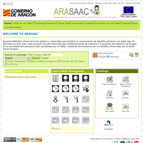 ARASAAC: Aragonese Portal of Augmentative and Alternative Communication