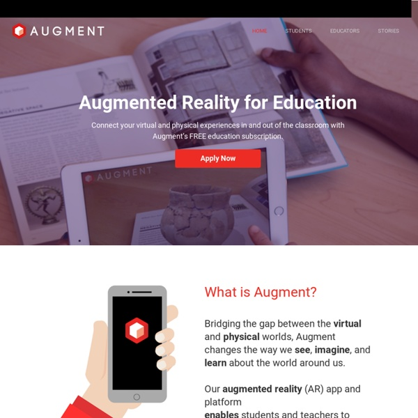 Augmented Reality for Education - Augment