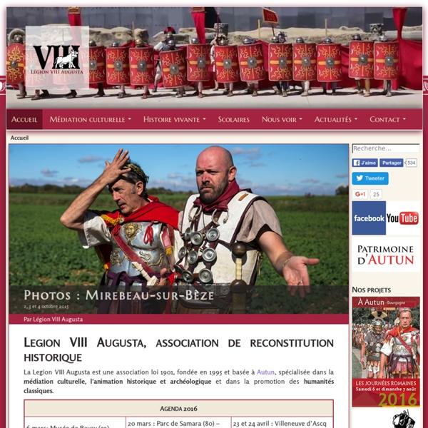 LEGION VIII AUGUSTA: reconstitution de l'armée romaine et du monde romain du 1er siècle.