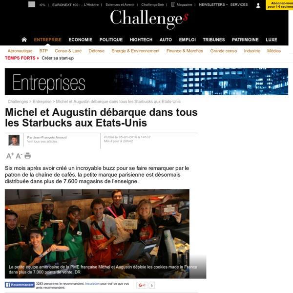 Michel et Augustin débarque dans tous les Starbucks aux Etats-Unis