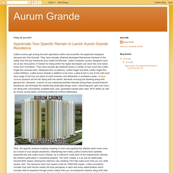 Aurum Grande Mumbai
