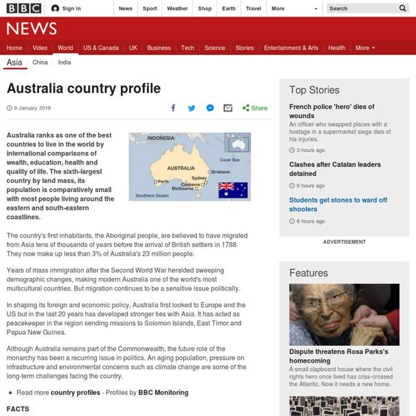 Australia country profile