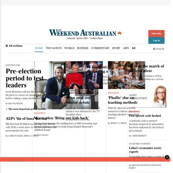 The Australian, News from Australia's National Newspaper