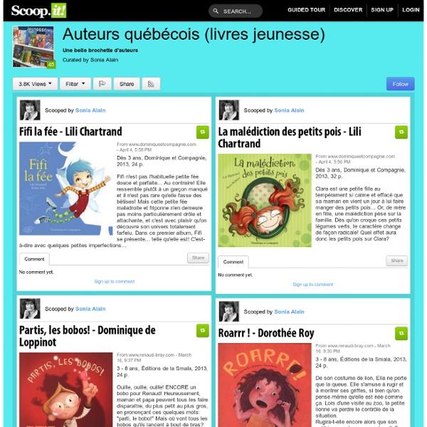 Auteurs québécois (livres jeunesse)