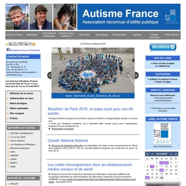 Autisme France - Autisme France
