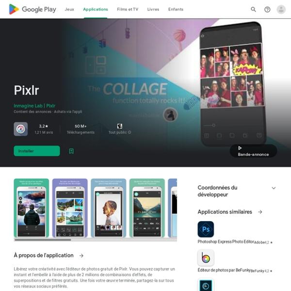 Pixlr Express - photo editing