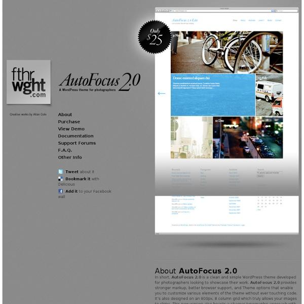 AutoFocus 2.0 for Wordpress