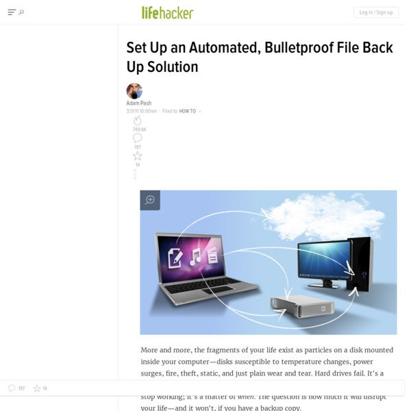 Set Up an Automated, Bulletproof File Back Up Solution