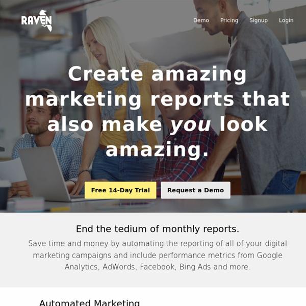 Internet Marketing Tools for SEO and Social Media