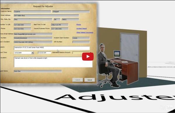 Automatisation des processus métiers dans le secteur de l'assurance