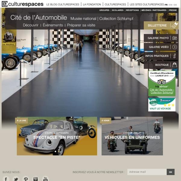Cité de l'Automobile - Collection Schlumpf - Site officiel - gérée par Culturespaces, Mulhouse
