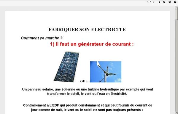 Bioenergies.free.fr/mapage/autonomie-electrique1.pdf