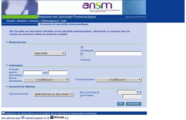 AMM afssaps