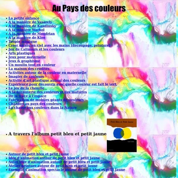 Aux pays des couleurs