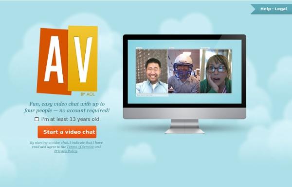 AV by AOL - Let's video chat!