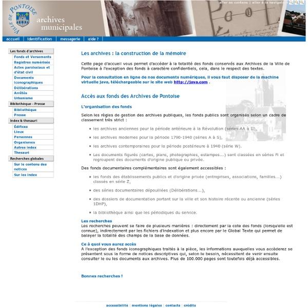 AM de Pontoise (95)