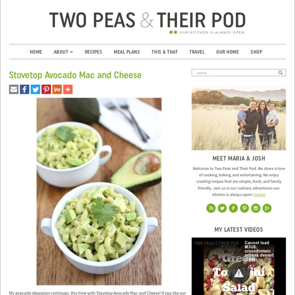 Stovetop Avocado Mac And Cheese Recipe — Dishmaps