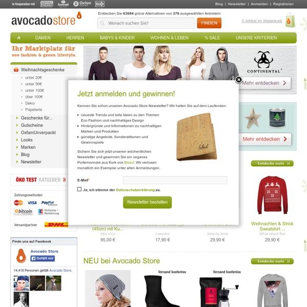 Avocado Store - Öko Mode Eco Fashion Lifestyle Bio Design