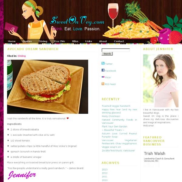 Avocado Dream Sandwich