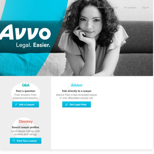 Avvo.com - Expert Advice When You Need It Most