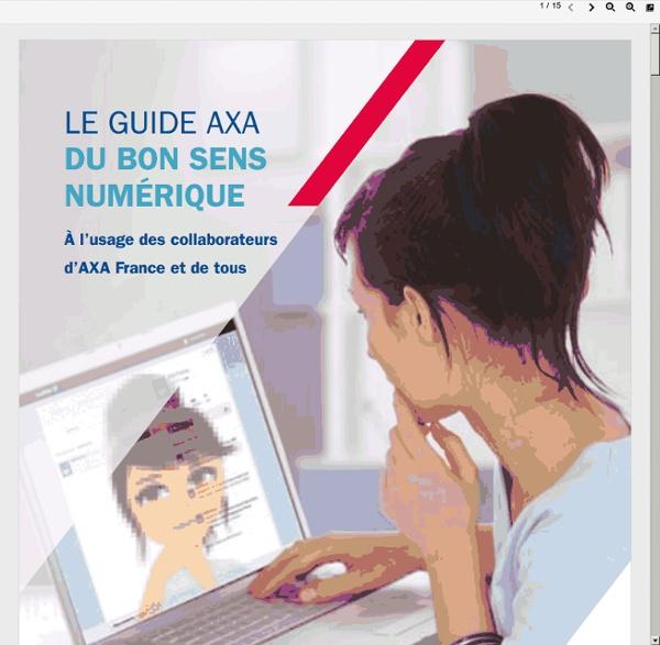 Le bon sens numérique - le guide